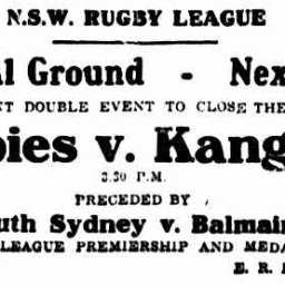 The Grand Final that never was